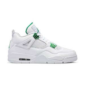 Air Jordan 4 Retro Green Metallic
