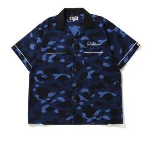 BAPE Color Camo Sta SS Shirt Blue