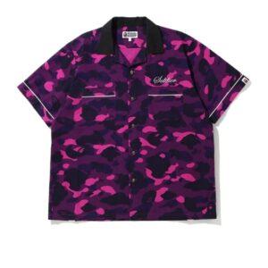 BAPE Color Camo Sta SS Shirt Purple