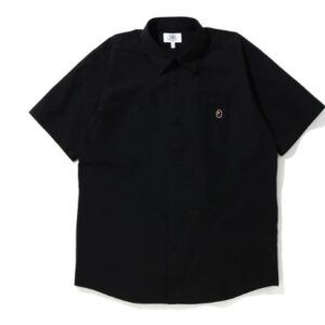BAPE One Point SS Shirt Black