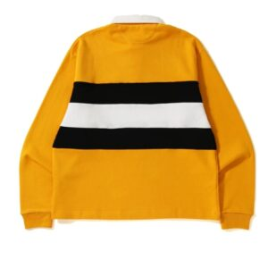 BAPE Relax Silhouette Rugby Yellow 1