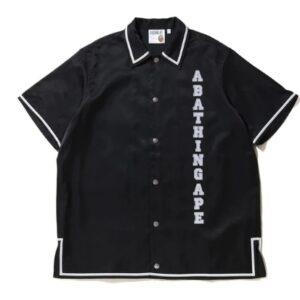 BAPE Relaxed Classic Disco SS Shirt Black