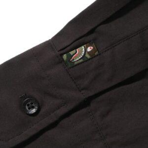 BAPE Shark BD Shirt Black 2