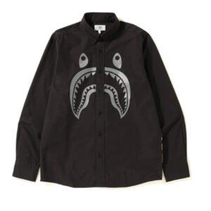 BAPE Shark BD Shirt Black