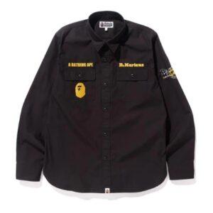 BAPE X DR.MARTENS Work Shirt Shirt Black