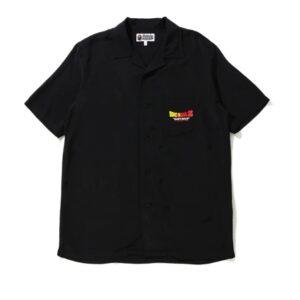 BAPE x Dragon Ball Z Baby Milo Super Saiyan SS Shirt Black