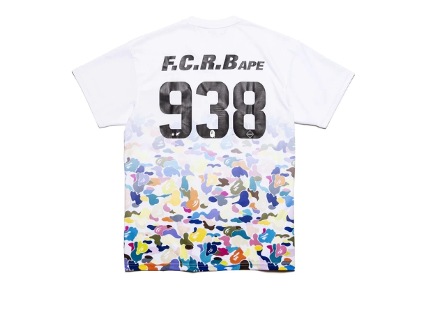 BAPE x F.C.R.B. Game Shirt White 2