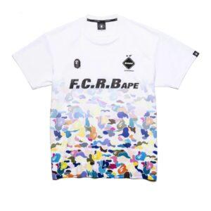 BAPE x F.C.R.B. Game Shirt White