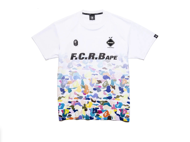 BAPE x F.C.R.B. Game Shirt White