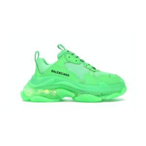 Balenciaga Triple S Neon Green Clear Sole W