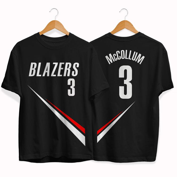 Blazers 3 CJ McCollum tee by slamdunk