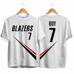 Blazers 7 Brandon Dawayne Roy tee by slamdunk 1