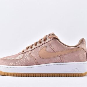 CLOT x Air Force 1 Low Premium Rose Gold Silk 1