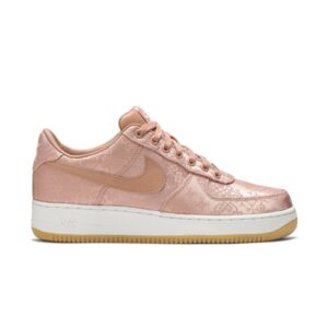 CLOT x Air Force 1 Low Premium Rose Gold Silk