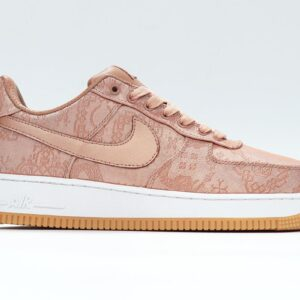 CLOT x Air Force 1 Low Premium Rose Gold Silk Special Box 1