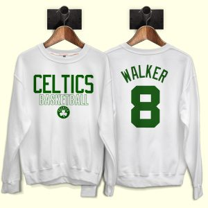 Celtics 8 Kemba Walker Sweetshirt by Slamdunk 1