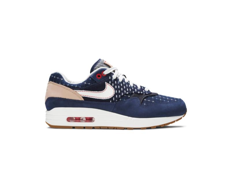 Denham x Nike Air Max 1 Blue Void