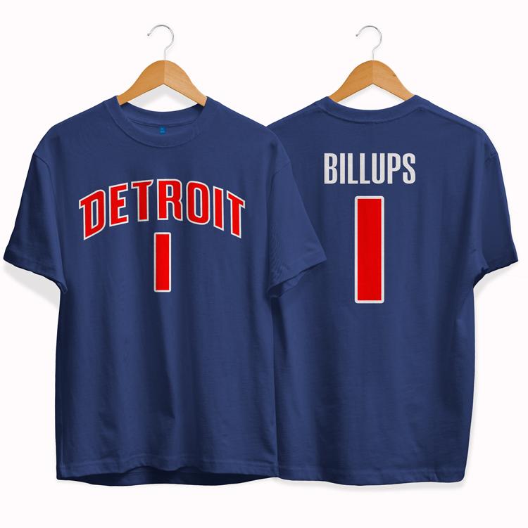 Detroit Pistons 1 Chauncey Billups tee by slamdunk 1