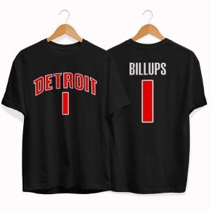 Detroit Pistons 1 Chauncey Billups tee by slamdunk
