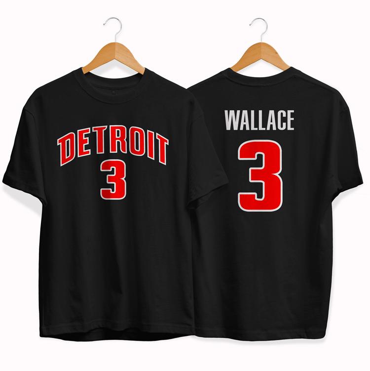 Detroit Pistons 3 Ben Wallace tee by slamdunk