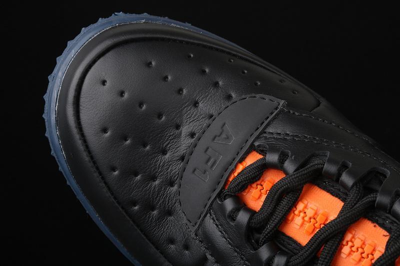Gore Tex x Nike Air Force 1 Winter Black Bright Ceramic Thunder Blue 5