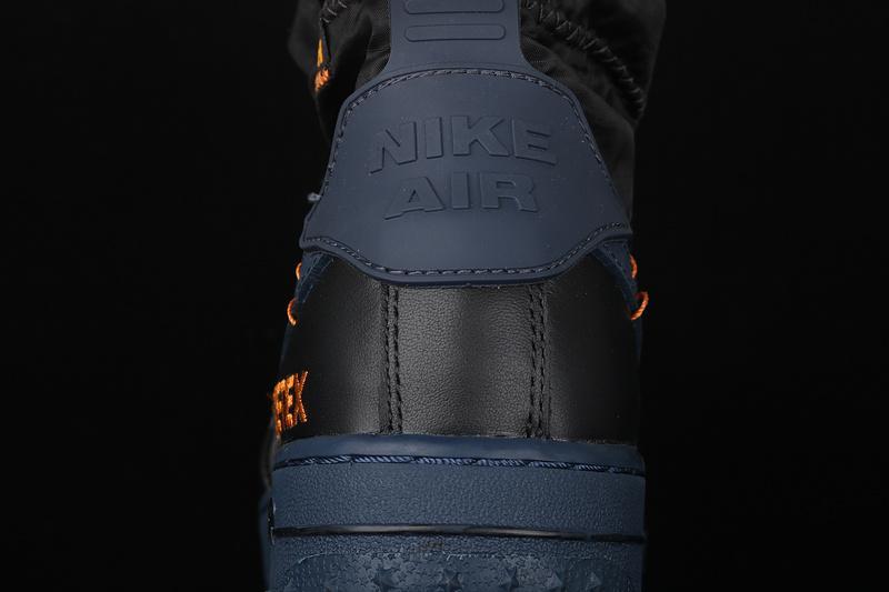 Gore Tex x Nike Air Force 1 Winter Black Bright Ceramic Thunder Blue 8