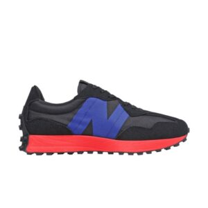 New Balance 327 Black Blue Red
