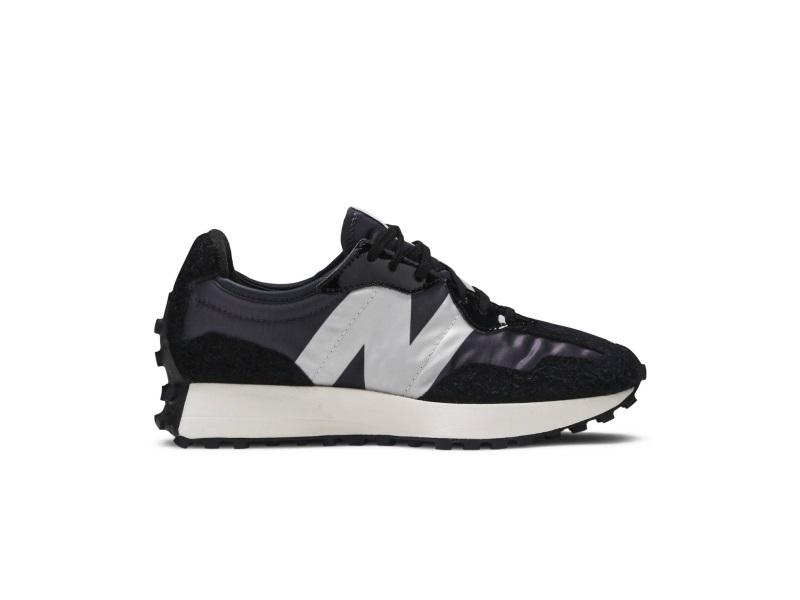 New Balance 327 Black Grey W