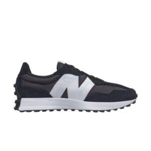 New Balance 327 Black White
