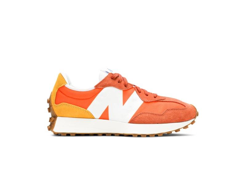 New Balance 327 Varsity Orange