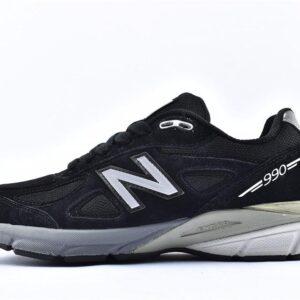 New Balance 990v4 Kith Black 1