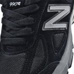 New Balance 990v4 Kith Black 11