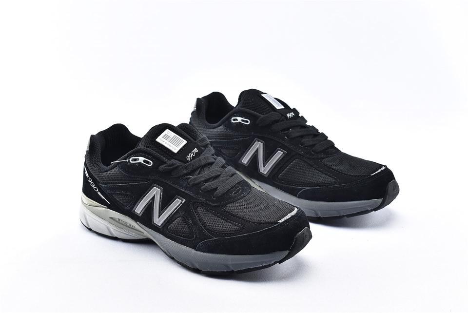 New Balance 990v4 Kith Black 2