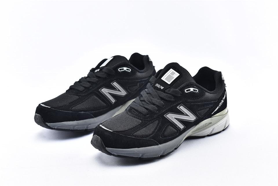 New Balance 990v4 Kith Black 5