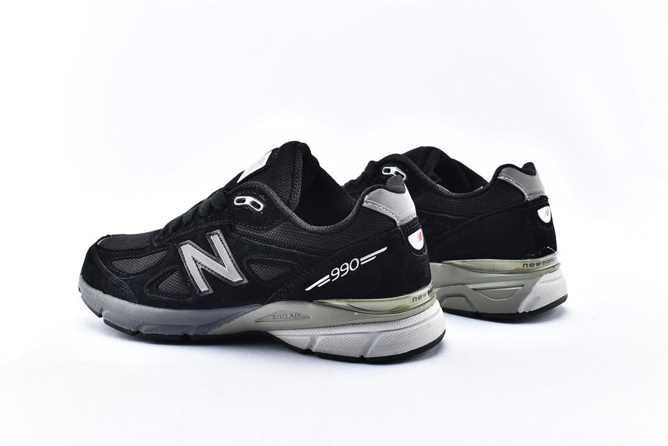 New Balance 990v4 Kith Black 9