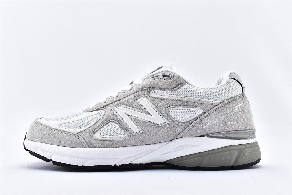 New Balance 990v4 Nimbus Cloud White 1