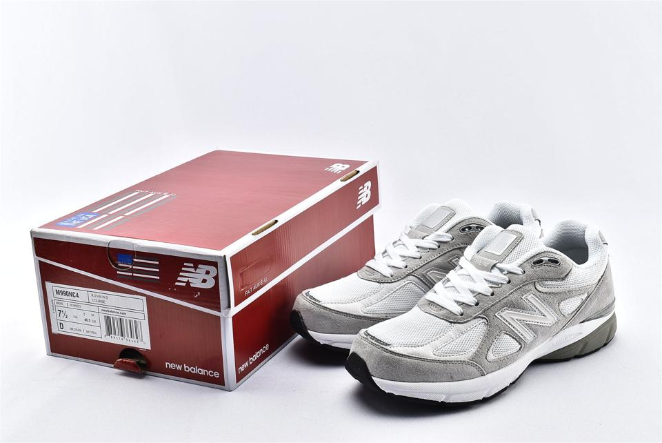 New Balance 990v4 Nimbus Cloud White 10