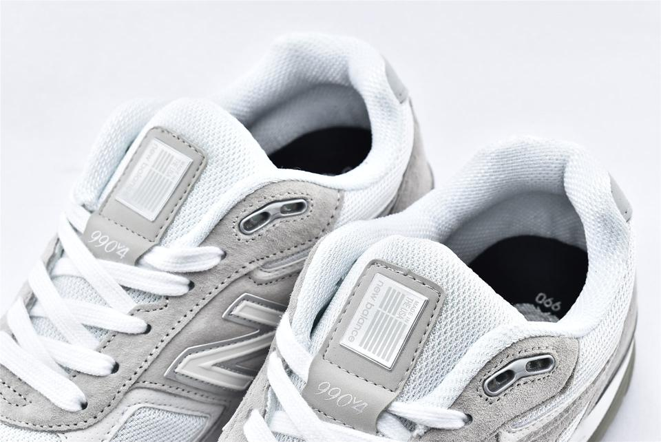 New Balance 990v4 Nimbus Cloud White 4