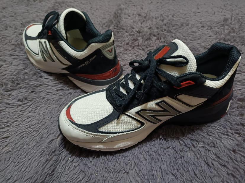 New Balance 990v5 Carbon Team Red 2