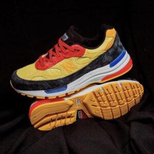 New Balance 992 Yellow Red 1