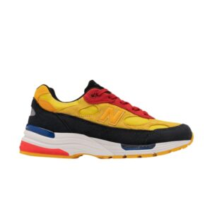 New Balance 992 Yellow Red
