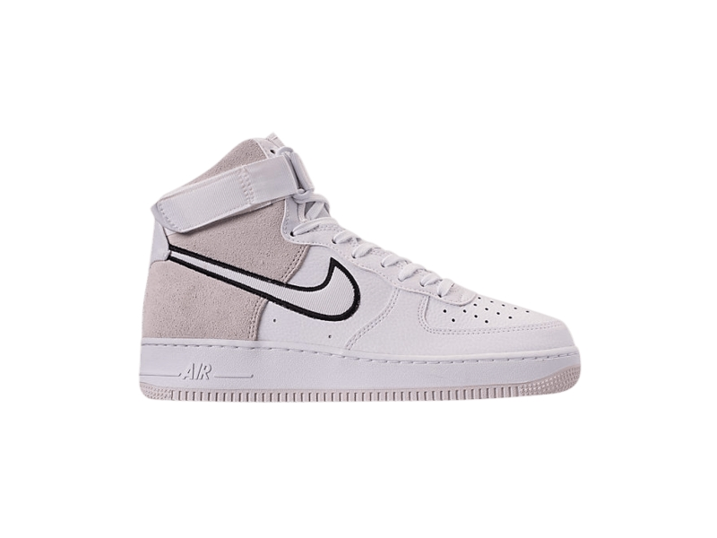 Nike Air Force 1 High White Vast Grey Black