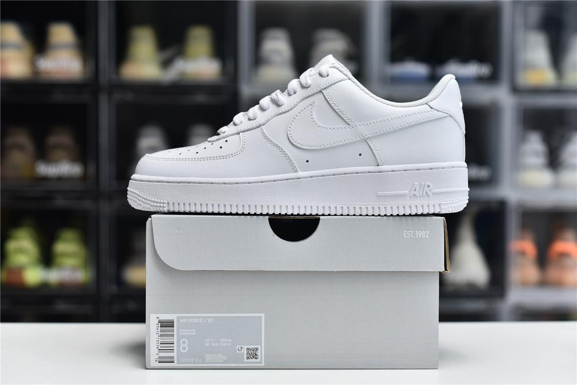 Nike Air Force 1 Low White 07 6