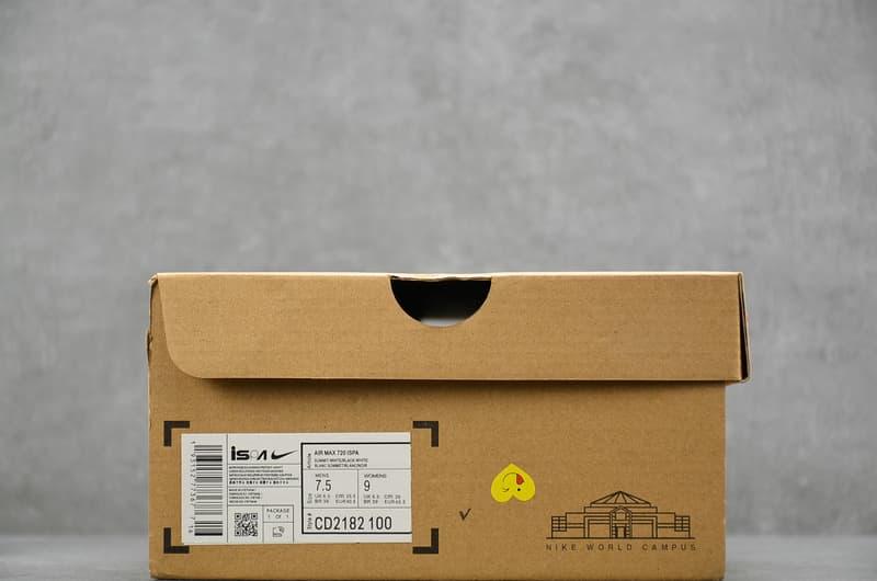 Nike Air Max 720 ISPA Summit White Black 9