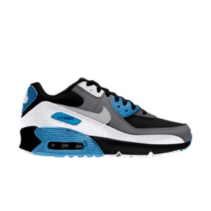 Nike Air Max 90 Leather GS Black Dark Grey