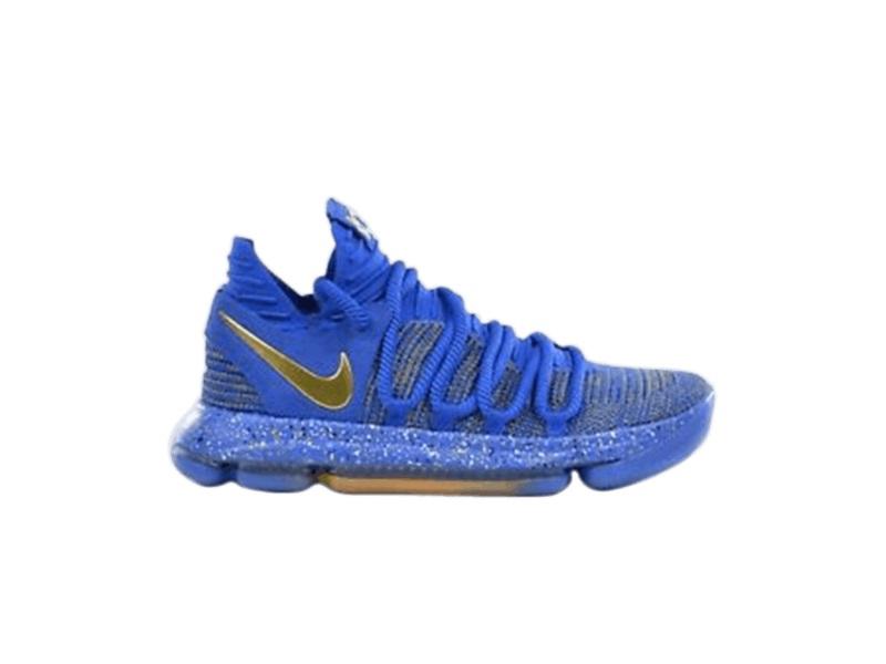 Nike KD 10 EPRacer Blue Metallic Gold