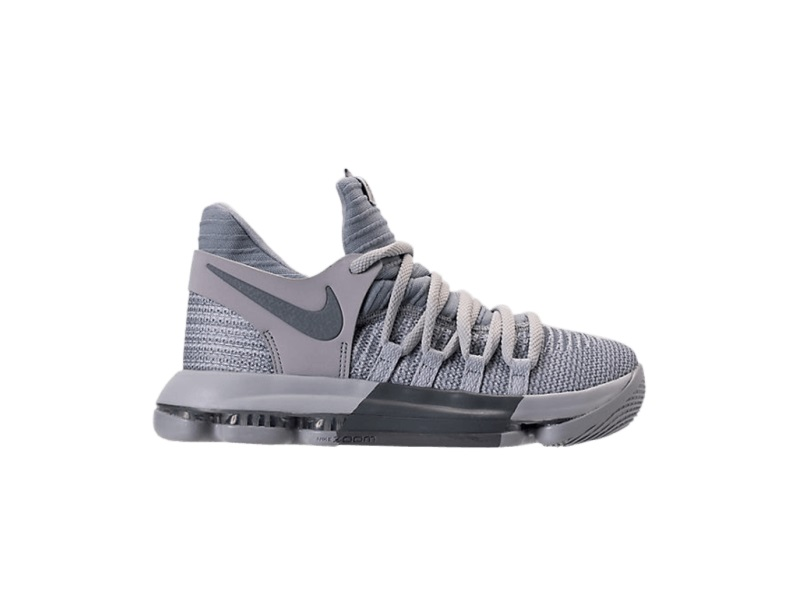 Nike KD 10 Wolf Grey GS