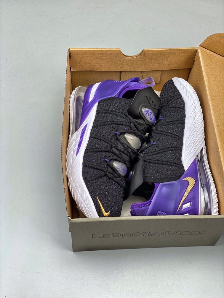 Nike LeBron 18 Lakers 1