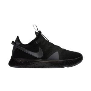 Nike PG 4 Black Metallic Dark Grey