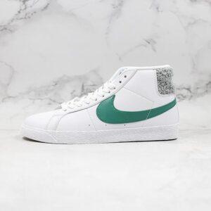 Nike SB Zoom Blazer Mid White Bicoastal 1